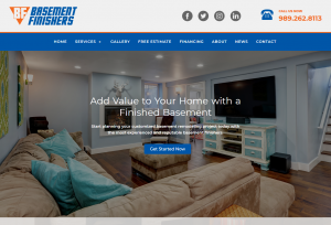 Basement Finishers Launches Website